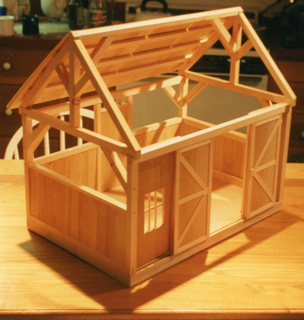 Woodworking Building: Woodworking plans toy barn